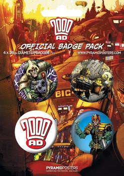 Pin - 2000AD