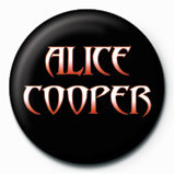 ALICE COOPER - logo - pin