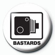 BASTARDS (SPEED CAMERA) - pin