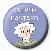 Clever Bastard - pin