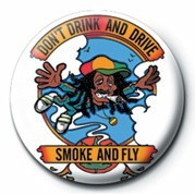 DON'T DRINK AND DRIVE - pin