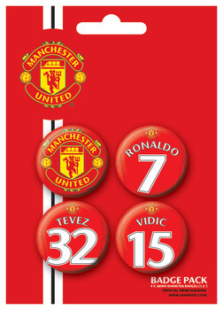 Pin -  MANCH. UNITED - Players 1