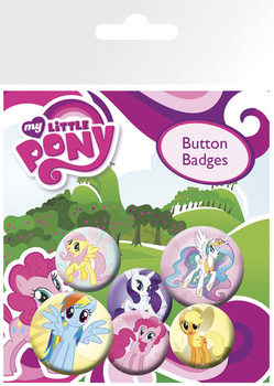 MY LITTLE PONY - characters - pin