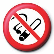 NO SMOKING - pin