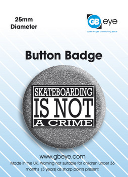 Not a crime - pin
