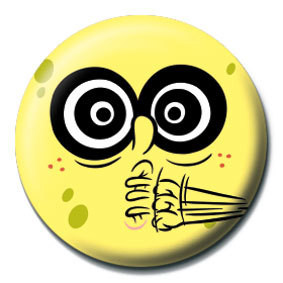 SPONGEBOB - crazy - pin