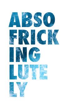 Cuadros en Lienzo Abso fricking lutely