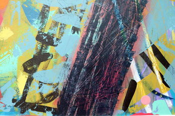 Cuadros en Lienzo abstract 5