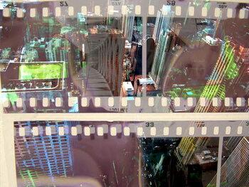 Cuadros en Lienzo Abstract Movie 2
