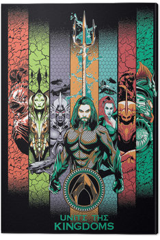 Cuadros en Lienzo Aquaman - Unite the Kingdoms