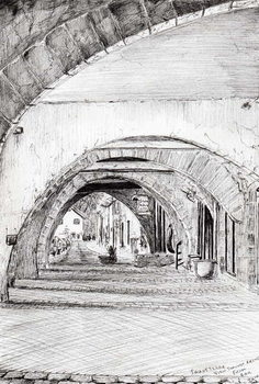 Cuadros en Lienzo Arches Sauveterre France, 2010,