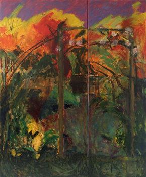 Cuadros en Lienzo Autumn Garden, 2012-14,