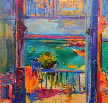 Cuadros en Lienzo Balcon de Paradis