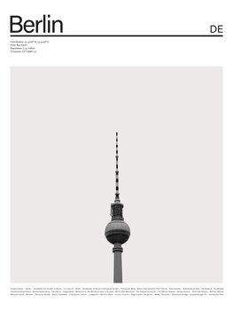 Cuadros en Lienzo City Berlin 2