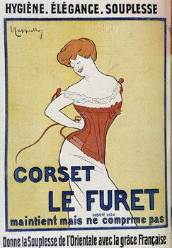 Cuadros en Lienzo Corset Le Furet