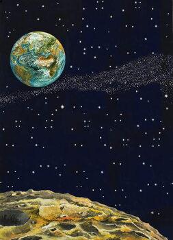 Cuadros en Lienzo Earth from Space