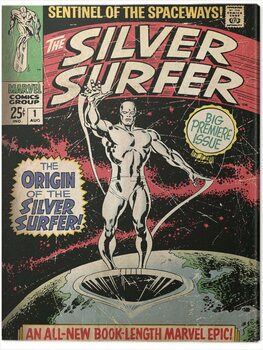 Cuadros en Lienzo Fantastic Four 2: Silver Surfer - The Origin