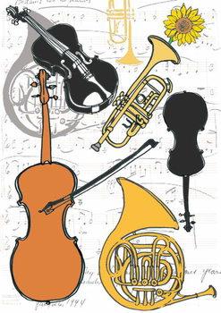 Cuadros en Lienzo Instruments, 2013