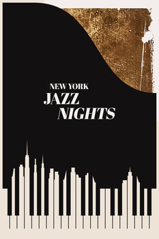 Cuadros en Lienzo Jazz Nights