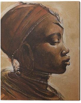 Cuadros en Lienzo Jonathan Sanders - Masai Woman I