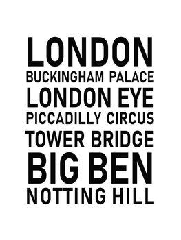 Cuadros en Lienzo london