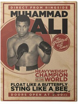 Cuadros en Lienzo Muhammad Ali - Retro - Corbis