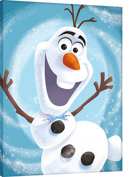 Cuadros en Lienzo Olaf's Frozen Adventure - Happy