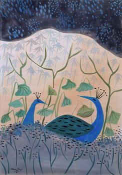 Cuadros en Lienzo Paons Or et Argent, 1985
