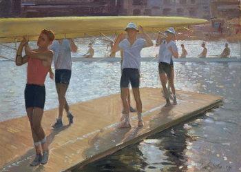 Cuadros en Lienzo Raft walk, 1994