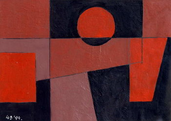 Cuadros en Lienzo Related Reds with Black, 1999