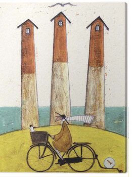 Cuadros en Lienzo Sam Toft - The Square, The Round and the Arched