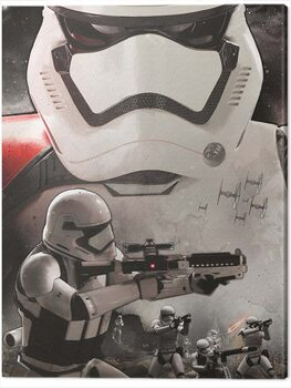 Cuadros en Lienzo Star Wars Episode VII - Stormtrooper Art