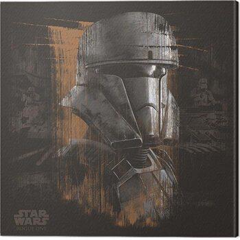 Cuadros en Lienzo Star Wars: Rogue One - Tank Trooper Black
