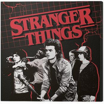 Cuadros en Lienzo Stranger Things - Action Ready