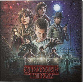 Cuadros en Lienzo Stranger Things - On Sheet
