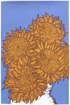 Cuadros en Lienzo Sunflowers, 2016,