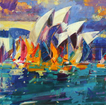 Cuadros en Lienzo Sydney Flying Colours, 2012