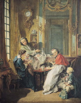Cuadros en Lienzo The Afternoon Meal, 1739