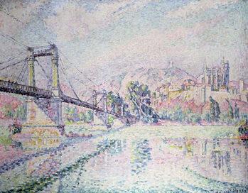 Cuadros en Lienzo The Bridge, 1928