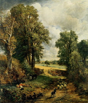 Cuadros en Lienzo The Cornfield, 1826