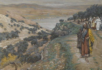Cuadros en Lienzo The Rich Young Man Went Away Sorrowful, illustration from 'The Life of Our Lord Jesus Christ', 1886-96