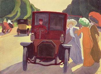 Cuadros en Lienzo The Road with Acacias, 1908