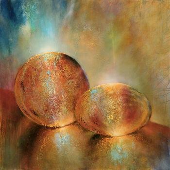 Cuadros en Lienzo Two marbles