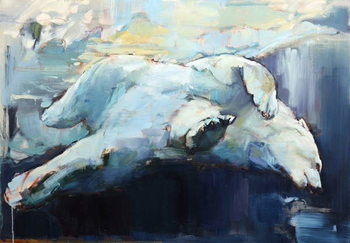 Cuadros en Lienzo Under the Ice, 2015,