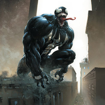 Cuadros en Lienzo Venom - Stalking Its Prey