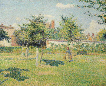 Cuadros en Lienzo Woman in the Meadow at Eragny, Spring, 1887