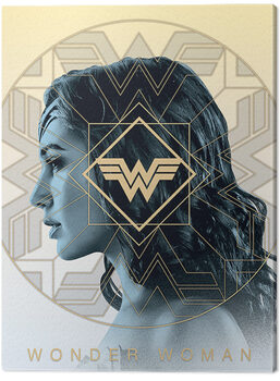Cuadros en Lienzo Wonder Woman 1984 - Amazonian Pride