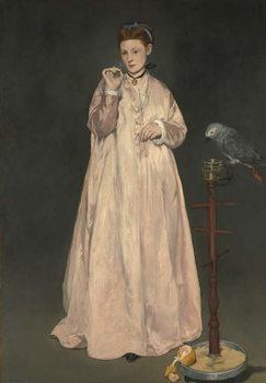 Cuadros en Lienzo Young lady in 1866