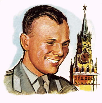 Cuadros en Lienzo Yuri Gagarin