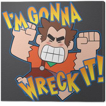Pinturas sobre lienzo  ¡Rompe Ralph! - I'm Gonna Wreck It